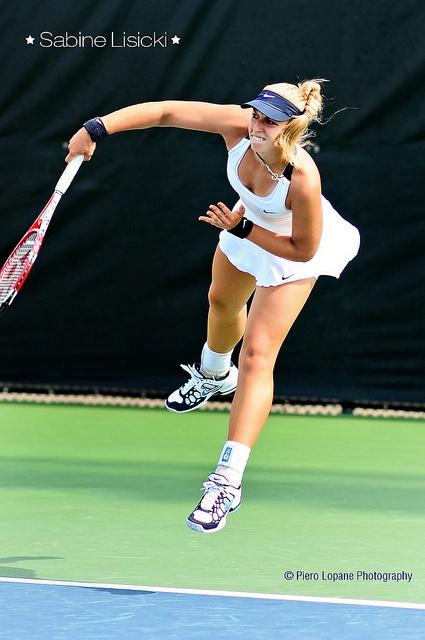 Sabine Lisicki @ Rogers Cup 2012 © Piero Lopane