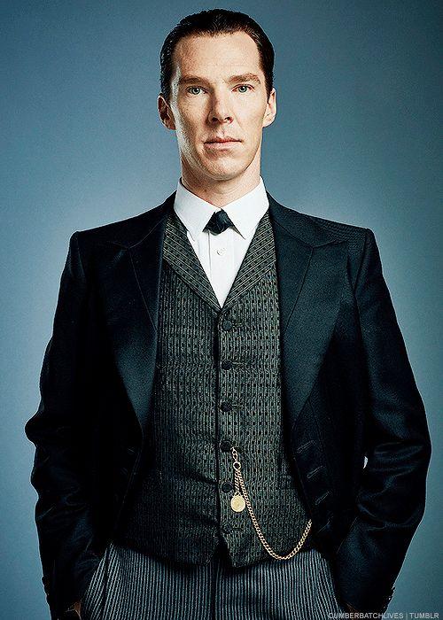 "cumberbatchlives: "" ""Benedict Cumberbatch as Mr. Sherlock Holmes (x) "" """