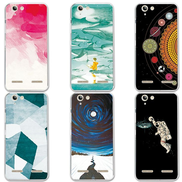 "Couple Phone Case For Lenovo K5 5.0"", 14 Patterns Universe Planet Astronauts Design Coque For Lenovo Vibe K5 / K5 Plus Lemon 3"