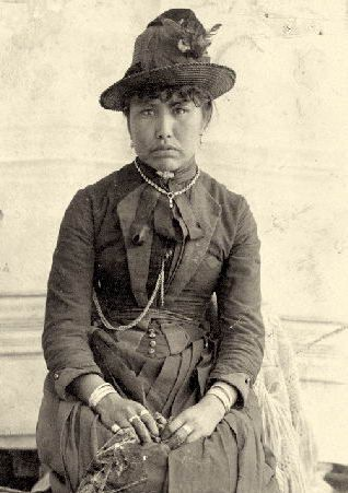 Mary Porter, Telegraph Creek, c. 1900.