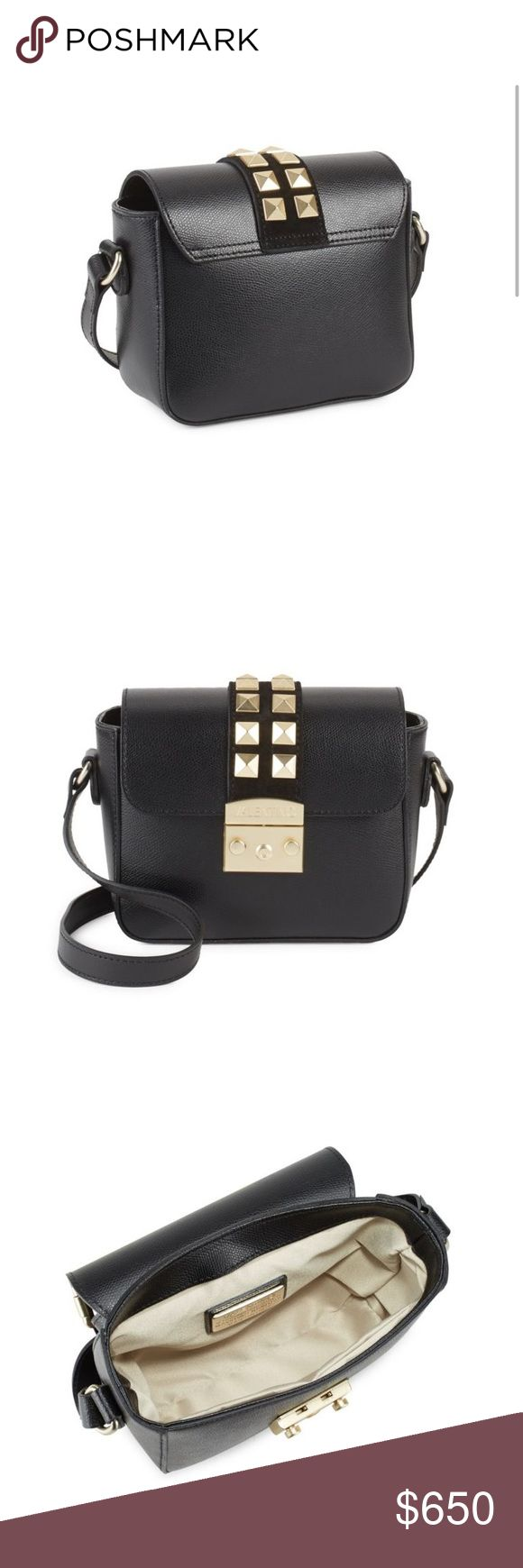 Beautiful black Valentino studded satchel! This is a gorgeous black Valentino by Mario Valentino studded satchel! Brand new, authentic, with tags as always! Valentino Bags
