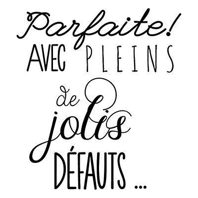 #jolis défauts