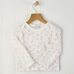 Newborn and toddler long sleeved baby top £13.00 Free delivery & gift wrap to mainland UK #woodland #babygirl
