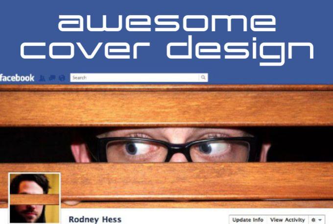 design a facebook cover by designpremium