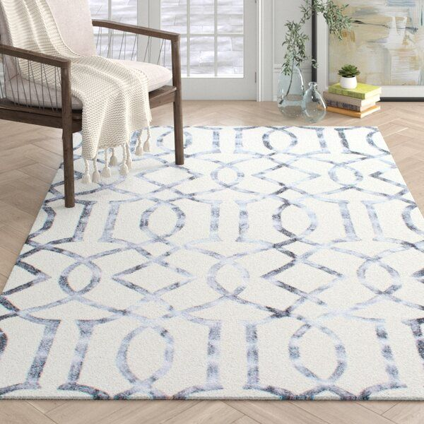 Sophisticated Striking Stylish How Would You Describe This Hand Woven Area Rug This Carpet Has A Trellis Inspired Pattern Fo White Area Rug Area Rugs Rugs