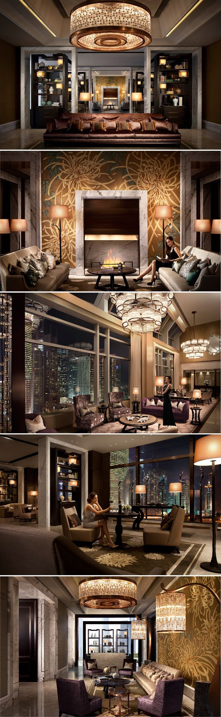 Luxury Residence_The IFC Residence, Shanghai by Andre Fu of AFSO