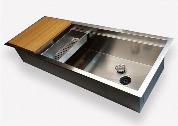 Offset Drain Kitchen Sinks