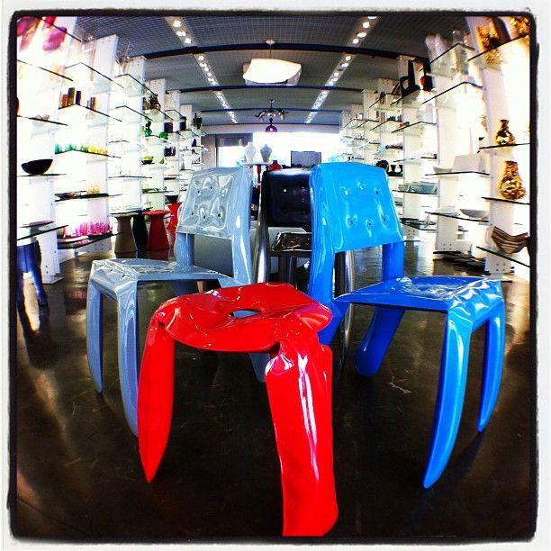 Cadeiras de Oskar Zieta.