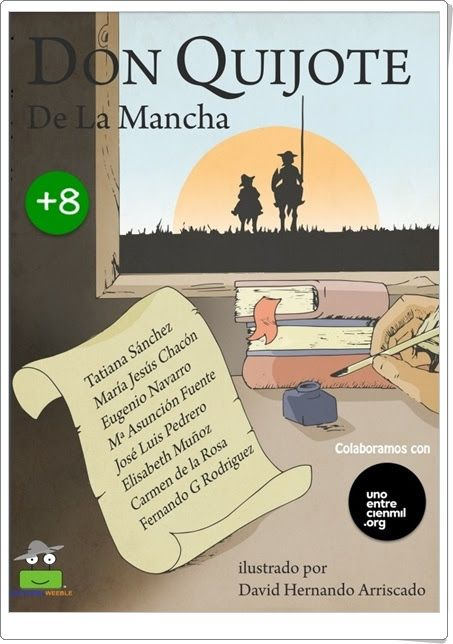"""Don Quijote de la Mancha"" (Adaptación infantil)"