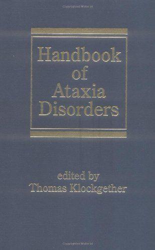 Handbook of Ataxia Disorders