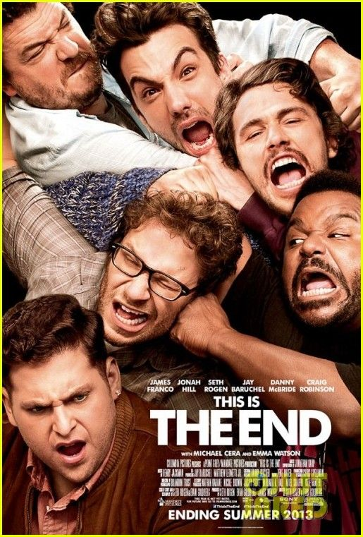 This is the end movie.... coming soon !!!!! #jamesfranco #sethrogen and more