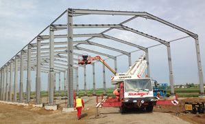 Proiectare si Constructie Hale Metalice si Structuri Metalice - Duna-steel.ro