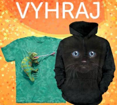 Vyhraj originálne tričko a mikinu v hodnote 85€