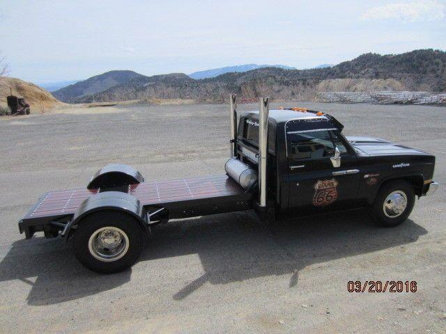 Custom Chevy Ratrod (Rat Rod), dually, flatbed w/ 454, 400 auto