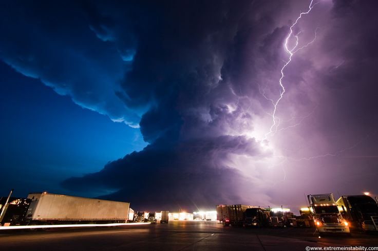 Supercell storm spitting lightning in York Nebraska in 2009.: Photos, Lightning, Weather, Cloud, Nature S, Storms, Mother Nature