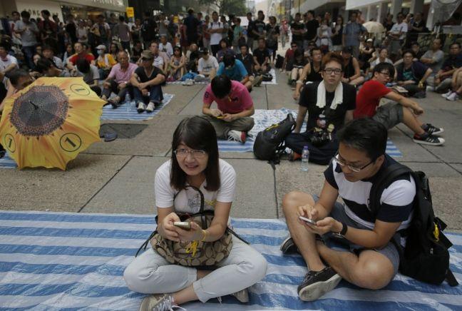 Hong Kong, FireChat e le reti della rivolta - State of Arts and Tech, strumenti tecnologici usati x organizzare proteste senza appoggiarsi ad internet e quindi evitando censure e controlli