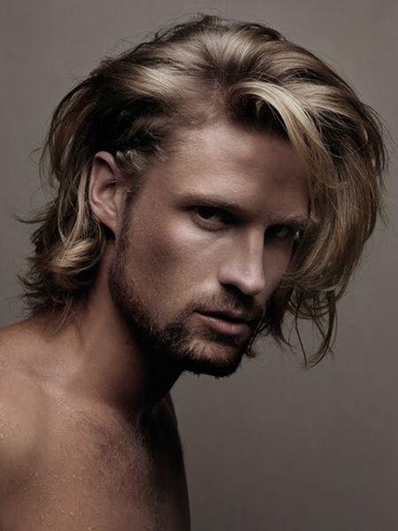 Άνδρες με μακριά ξανθά μαλλιά!!!