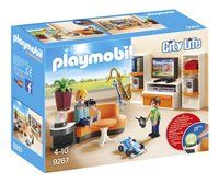 PLAYMOBIL City Life 9267 Salon équipé
