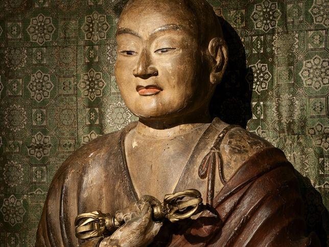 Kobo Daishi, Monge Fundador de Koyasan, o berço do Budismo Shingon no Japão.