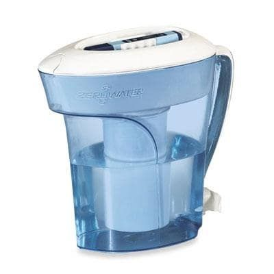 Zerowater 10 Cup Pitcher With Free Tds Meter (Total Dissolved Solids) - Zp-010