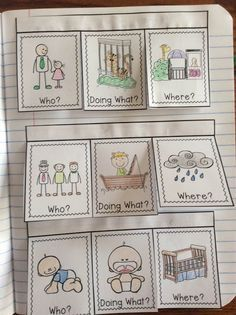 Interactive Writing Notebook for First Grade
