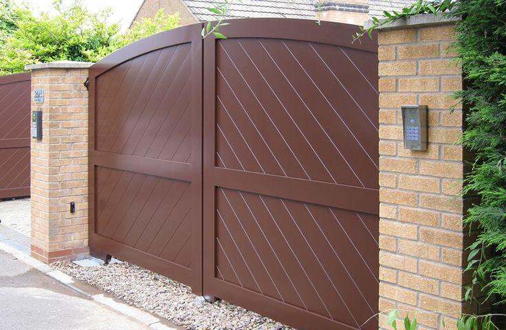 Aluminium Drive Gates, Aluminium Gates, Gate Installers, Northamptonshire, Residential Gates, Automatic Gates, Electric Gates, Security Gates, Gate Makers,