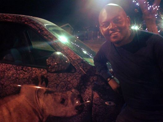 Music legend DJ Euphonik posed for a selfie to support the cause! A true superstar!