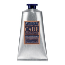L'Occitane Cade After Shave Balm  my husband smells like a goddess after this.. he is hooked
