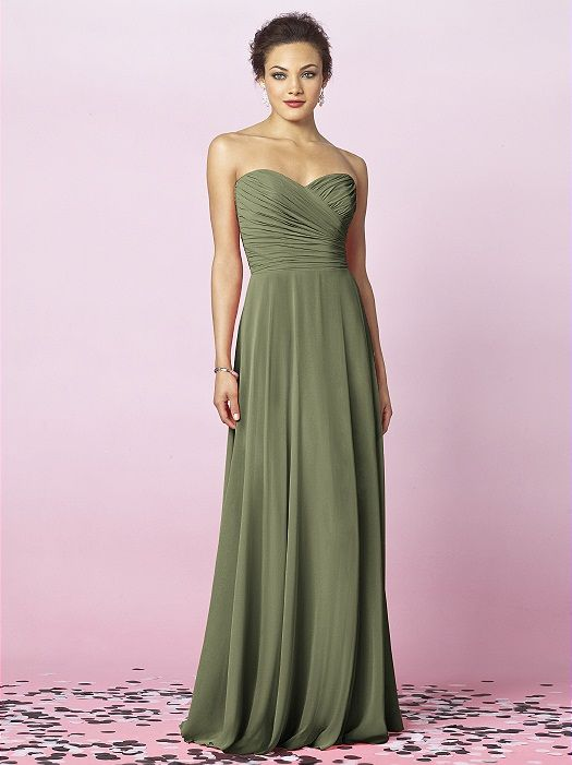 moss green, bridesmaid dress, Dessy, After Six Bridesmaids Style 6639