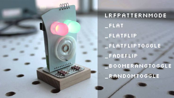 Lights, Camera, Patterns! Find out how to Little Robot Friends' eyes glow. #Robots #DIY