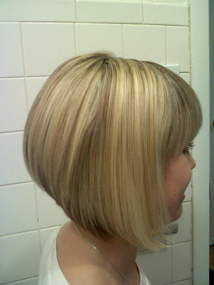 Good Ole Graduated Bob Medium Length Pinterest