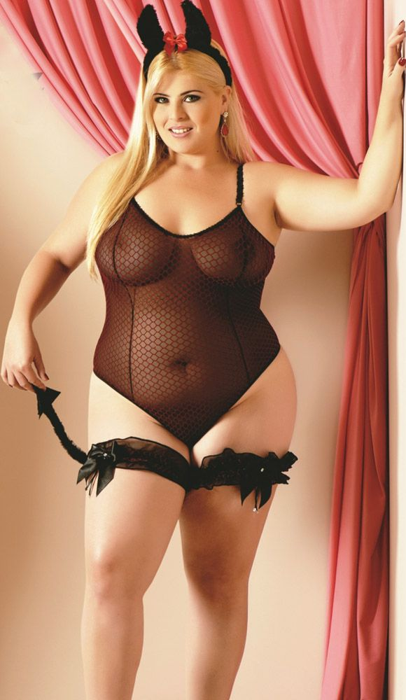 Sexy bbw in lingerie whom can