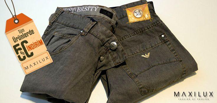 Fit kalıplı Armani Jeans'den daha havalı ne olabilir?  #Maxilux #Moda #Marka #AJ #Fashion #Brand