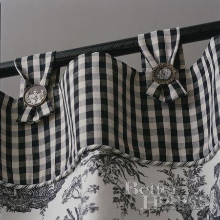 Gingham and toile