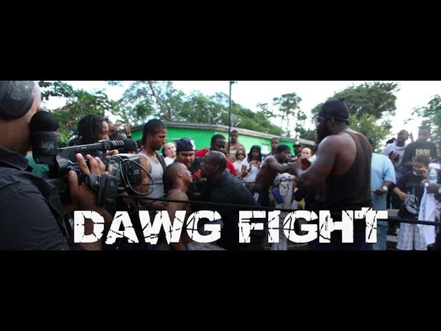 Dawg Fight: Back Yard Dog Fights Documentary  Dawg Fight - Documentary movie West Perrine, Florida is a suburban ghetto in Southwest Miami-Dade County. Over 73% of its residents are African-American and more than a third of them are unemployed. Violent crimes occur... Directors: Billy Corben, Dhafir Harris Writer: Dhafir Harris (story)  https://www.hiphopdugout.com/videos/dawg-fight-back-yard-dog-fights-documentary