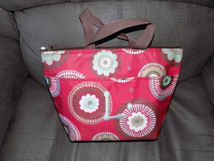 39.99$  Watch now - http://vifqr.justgood.pw/vig/item.php?t=jl7akdu6236 - Thirty One Thermal Cooler Tote Picnic Lunch Bag St. Andrews Garden EUC 39.99$