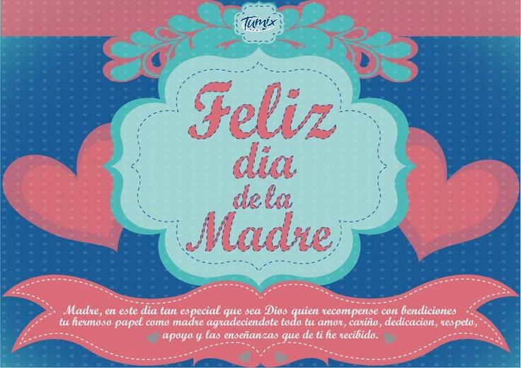 """¡Felicitaciones al Tumix Fanático autor de """"La tarjeta de día de la madre"""" ganadora! ¡Muy pronto una nueva canasta! #FrescuraQueDura"""