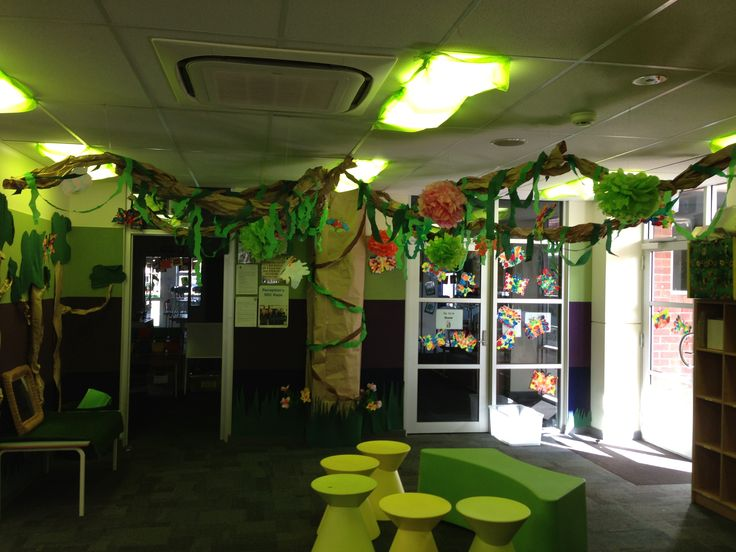 Rainforest classroom theme