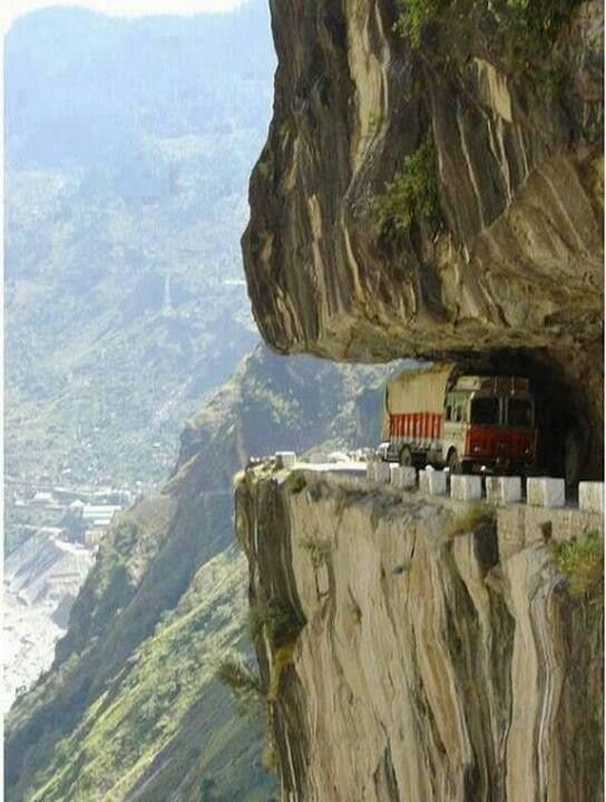 I have rode a bike on this- worlds most dangerous world!
