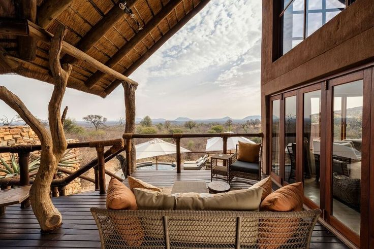 Book the deluxe safari option at Impodimo Game Lodge to ensure you have the ultimate luxurious experience.The suite can accommodate four adults and two children, it has two rooms both with their own en-suite, a lounge, dining area, private boma and plunge pool all commanding magnificent views over the Madikwe bushveld. Call us to book your #mtbedsLuxuryTravel getaway - 0860 119 119 or email us on reservations@mtbeds.co.za