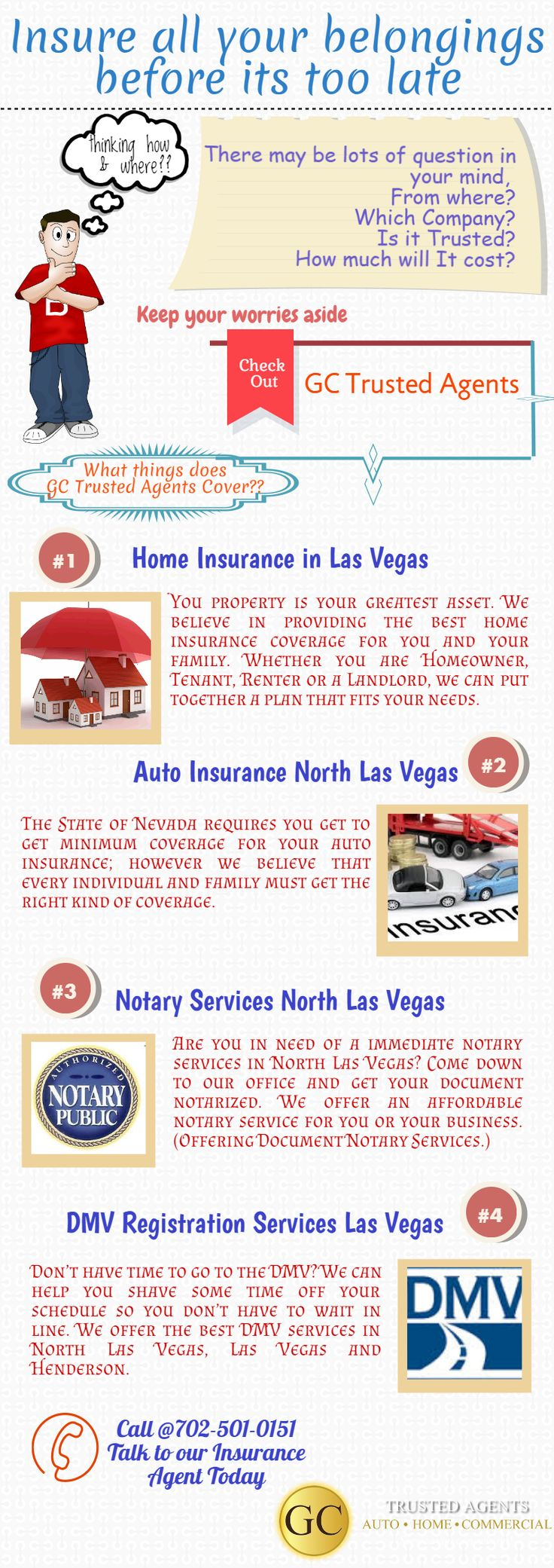 Get all types of insurance policies and other services