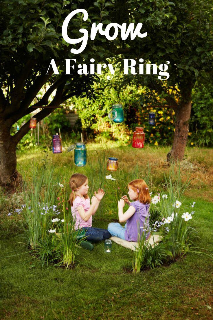 Kids Love This One: Grow A Fairy Garden Ring -- http://www.hgtvgardens.com/family-gardening/grow-a-fairy-garden-ring?