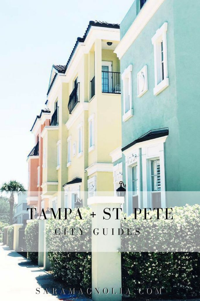 Tampa + St. Petersburg, Florida Guides - Sara Magnolia http://www.saramagnolia.com/2017/03/tampa-st-petersburg-guide/