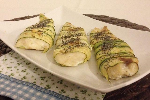 Filetti di #merluzzo nelle #zucchine #festadelpapà #pasqua #festa #domenica #secondopiatto #pesce #ricetta #gialloblog #verdura