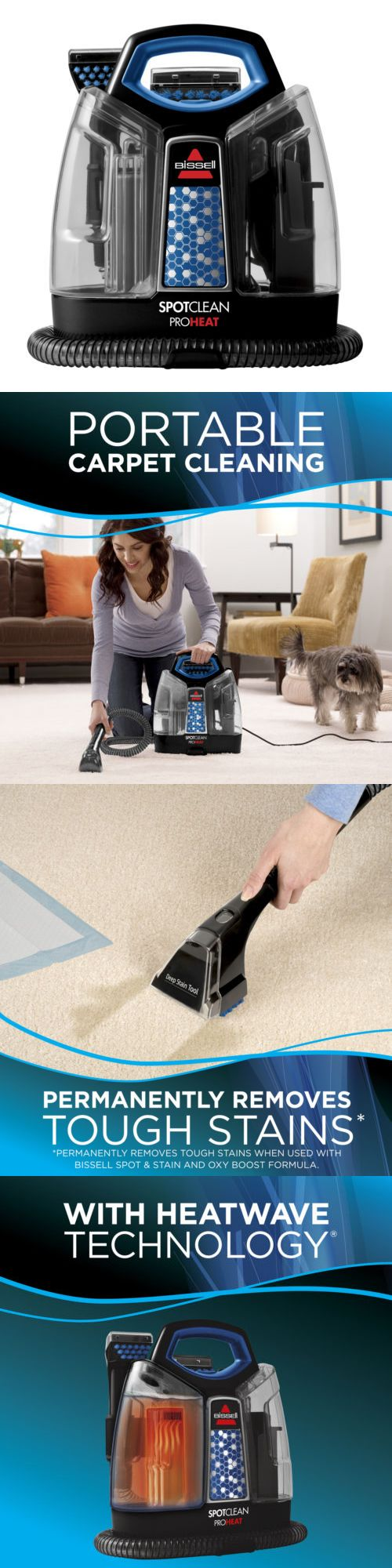 Carpet Shampooers 177746: Bissell® Spotclean Proheat Portable Carpet Cleaner   5207F New! -> BUY IT NOW ONLY: $99.99 on eBay!