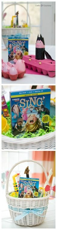 Create a fun kids craft inspired by the new movie SING in stores now on Blu-ray and DVD! #SingSquad #SingMovie #ad