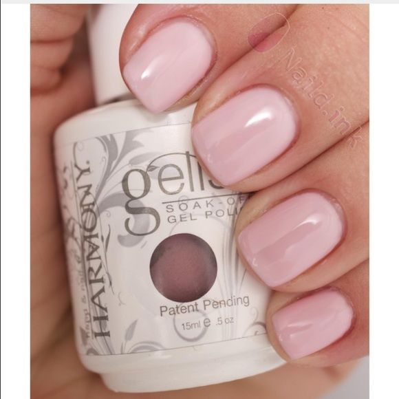 Pink smoothie gelish nail polish Like new. Used it twice. Not dry. You do need a UV light or LED light also the base and top coat for this nail polish. Accessories