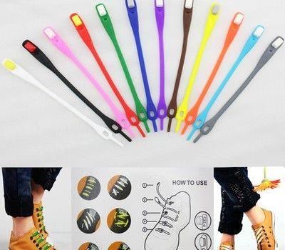 Esta semana descubrimos la tinytien de los cordones elásticos de colores ¡son la última moda en EEUU y Japón!