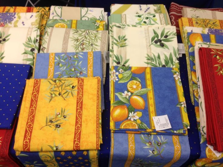 Exceptional French Tablecloths From Provence, Available From Our French Shopping Online  Store. Shipping Worldwide.