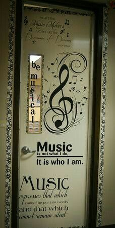 Awesome door decor